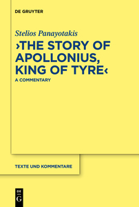 """""""The Story of Apollonius, King of Tyre"""" 