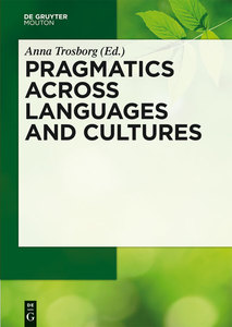 Pragmatics across Languages and Cultures | Dodax.de