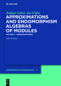 Approximations and Endomorphism Algebras of Modules | Dodax.ch