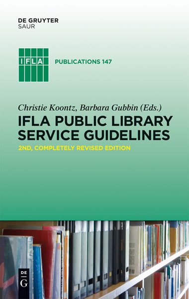 IFLA Public Library Service Guidelines | Dodax.at