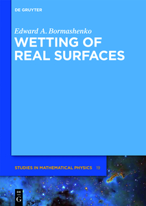 Wetting of Real Surfaces | Dodax.ch
