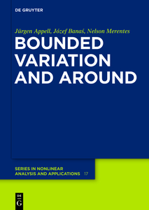 Bounded Variation and Around | Dodax.de