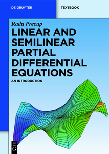 Linear and Semilinear Partial Differential Equations | Dodax.ch