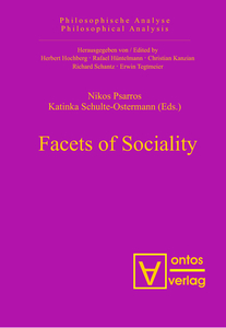 Facets of Sociality   Dodax.ch