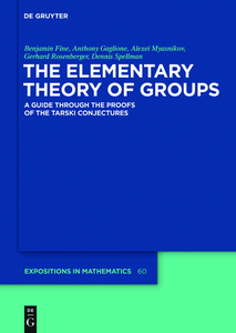 The Elementary Theory of Groups | Dodax.ch