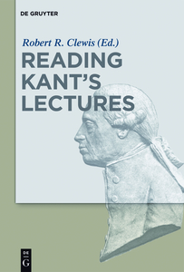 Reading Kant's Lectures | Dodax.pl