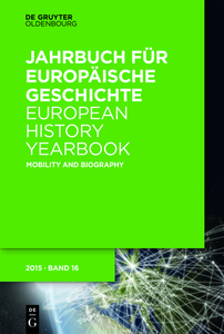 European History Yearbook / Mobility and Biography | Dodax.nl