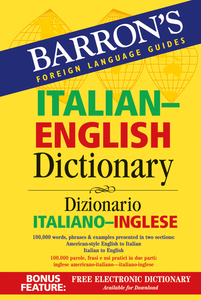Barron's Italian-English Dictionary | Dodax.ch