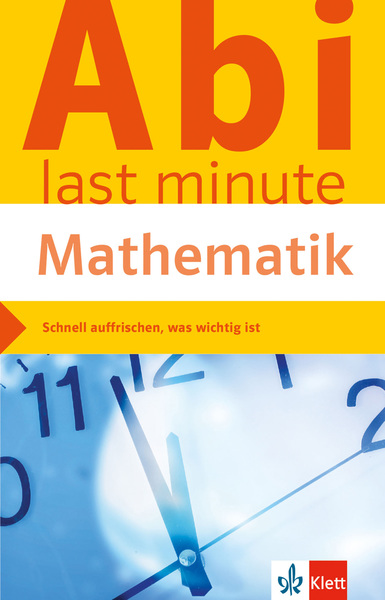 Abi last minute Mathematik | Dodax.at
