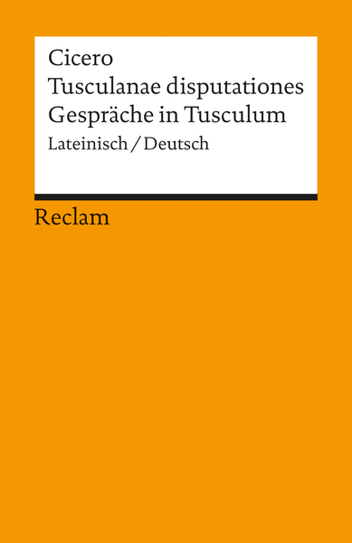 Gespräche in Tusculum. Tusculanae Disputationes | Dodax.at