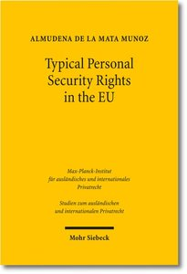 Typical Personal Security Rights in the EU | Dodax.ch