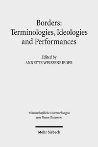 Borders: Terminologies, Ideologies, and Performances | Dodax.de