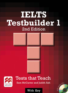 IELTS Testbuilder 1, Student's Book with Key and 2 Audio-CDs | Dodax.at