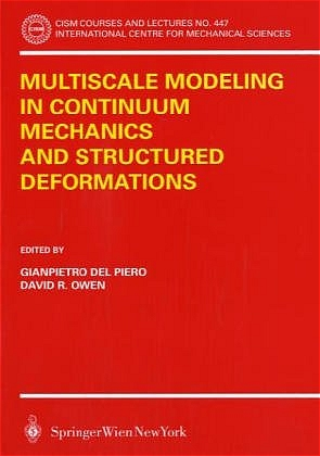 Multiscale Modeling in Continuum Mechanics and Structured Deformations   Dodax.pl