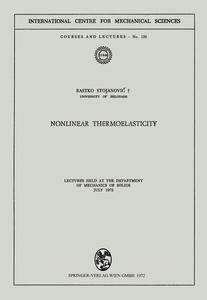 Nonlinear Thermoelasticity | Dodax.ch
