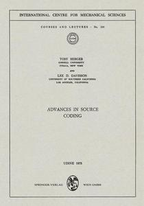 Advances in Source Coding | Dodax.at