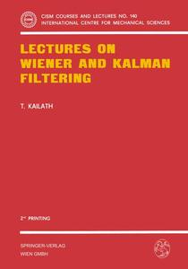 Lectures on Wiener and Kalman Filtering | Dodax.pl
