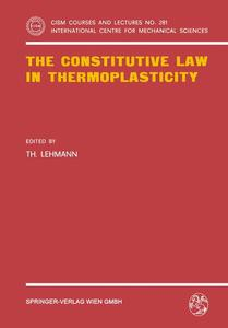 The Constitutive Law in Thermoplasticity | Dodax.pl