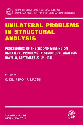 Unilateral Problems in Structural Analysis | Dodax.pl