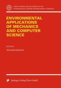Environmental Applications of Mechanics and Computer Science   Dodax.ch