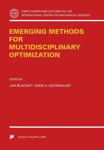 Emerging Methods for Multidisciplinary Optimization | Dodax.pl
