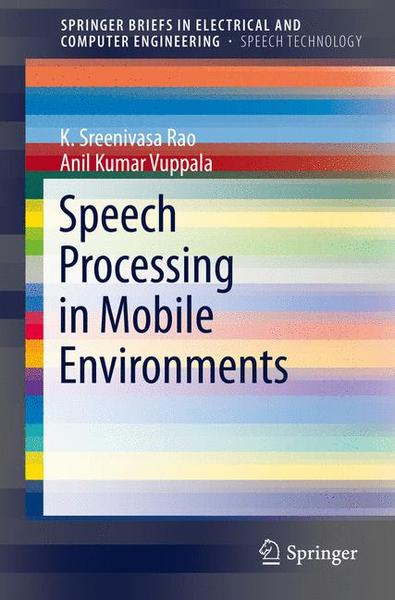 Speech Processing in Mobile Environments | Dodax.ch