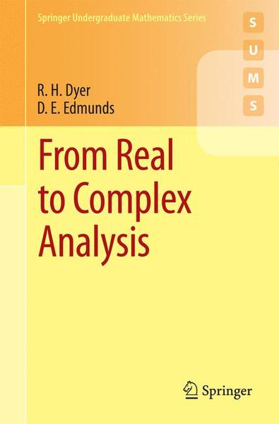 From Real to Complex Analysis | Dodax.ch