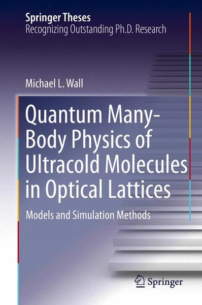 Quantum Many-Body Physics of Ultracold Molecules in Optical Lattices   Dodax.ch