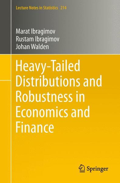 Heavy-Tailed Distributions and Robustness in Economics and Finance | Dodax.de