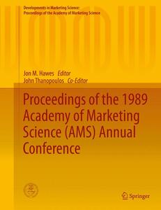 Proceedings of the 1989 Academy of Marketing Science (AMS) Annual Conference   Dodax.ch
