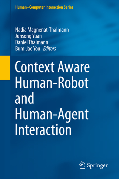 Context Aware Human-Robot and Human-Agent Interaction | Dodax.ch