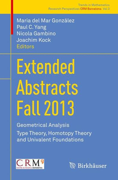 Extended Abstracts Fall 2013 | Dodax.ch