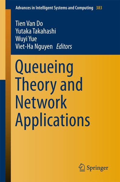 Queueing Theory and Network Applications | Dodax.ch
