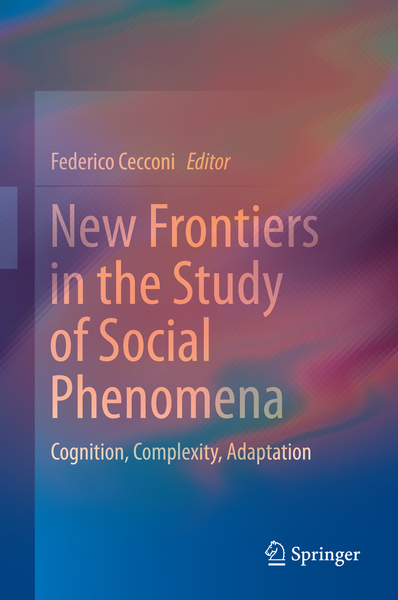 New Frontiers in the Study of Social Phenomena | Dodax.at