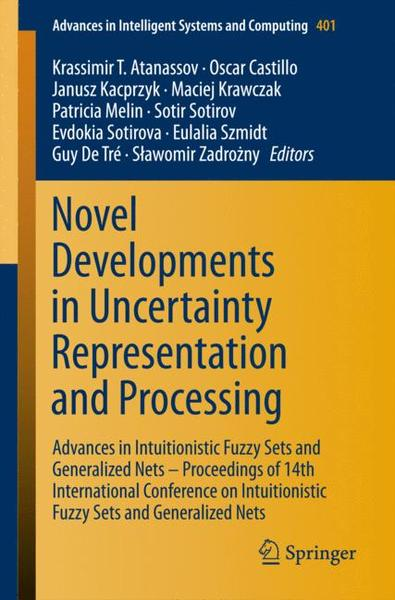 Novel Developments in Uncertainty Representation and Processing | Dodax.ch