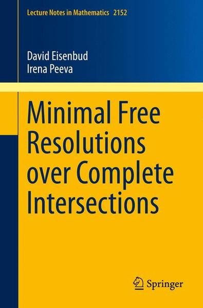 Minimal Free Resolutions over Complete Intersections | Dodax.at