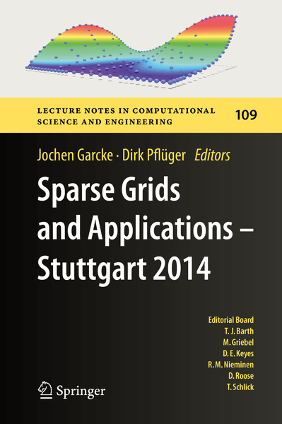 Sparse Grids and Applications - Stuttgart 2014 | Dodax.at