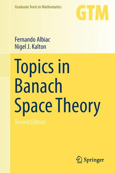 Topics in Banach Space Theory   Dodax.pl