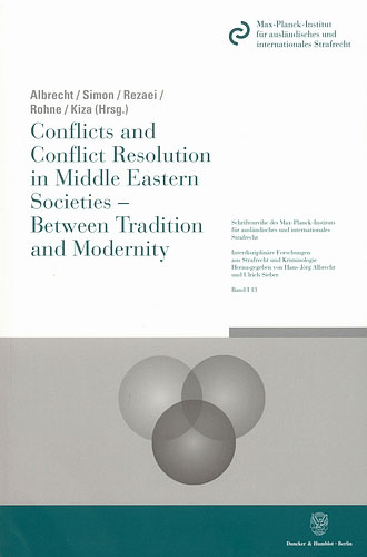 Conflicts and Conflict Resolution in Middle Eastern Societies - Between Tradition and Modernity. | Dodax.nl