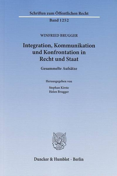 Integration, Kommunikation und Konfrontation in Recht und Staat. | Dodax.at