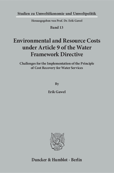 Environmental and Resource Costs under Article 9 of the Water Framework Directive | Dodax.at