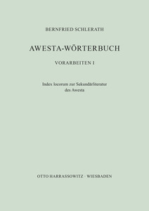 Awesta-Wörterbuch | Dodax.at
