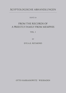 From the records of a priestly Family from Memphis | Dodax.at