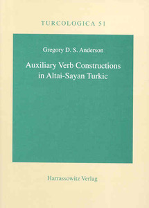 Auxiliary Verb Constructions in Altai-Sayan Turkic | Dodax.ch