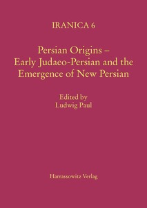 Persian Origins - Early Judaeo-Persian and the Emergence of New Persian | Dodax.ch