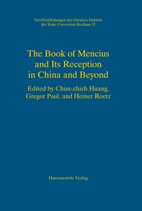 The Book of Mencius and its Reception in China and beyond | Dodax.ch
