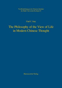 The Philosophy of the View of Life in Modern Chinese Thought | Dodax.ch