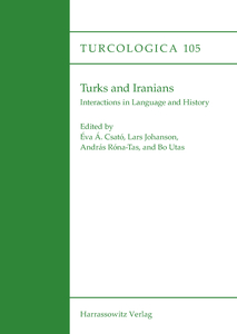 Turks and Iranians. Interactions in Language and History   Dodax.at