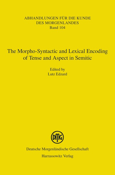 The Morpho-Syntactic and Lexical Encoding of Tense and Aspect in Semitic   Dodax.at