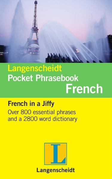 Langenscheidt Pocket Phrasebook French | Dodax.ch
